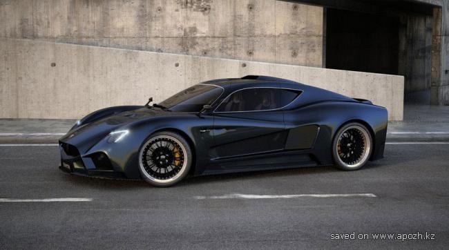 Новый итальянский суперкар Evantra