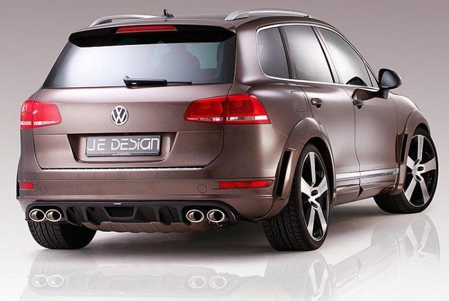 VW Touareg в тюнинге