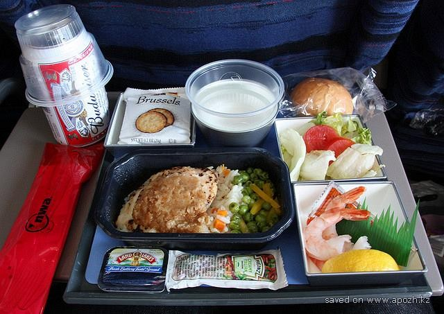 Еда в самолетах