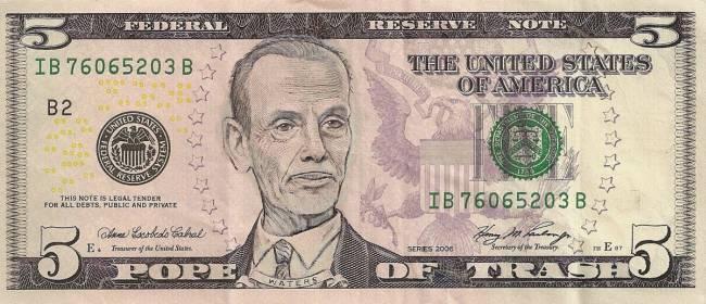 Фотожаба на доллар США