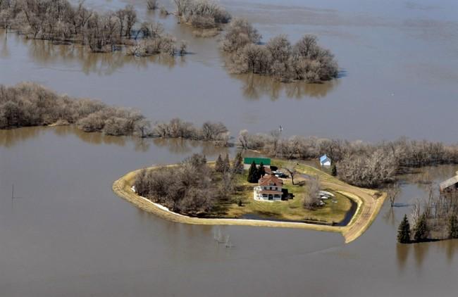 Наводнение в Северной Дакоте