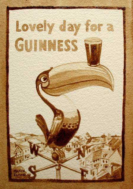Картины пивом