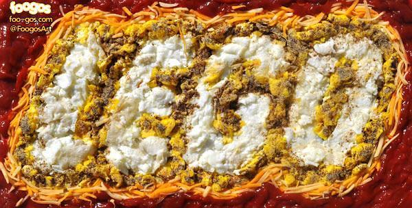 Логотипы из еды