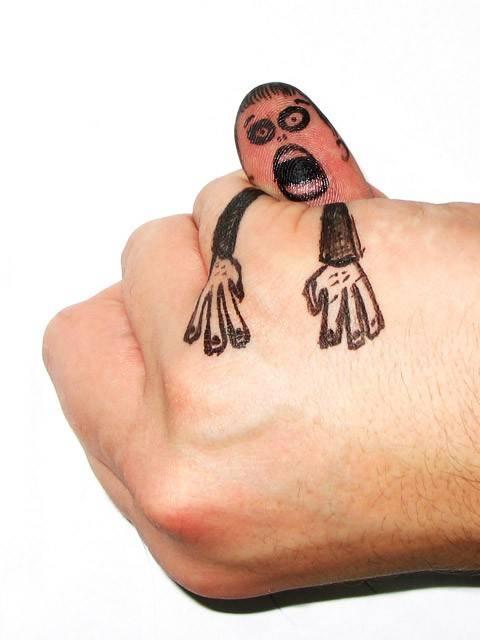 Креатив пальцами