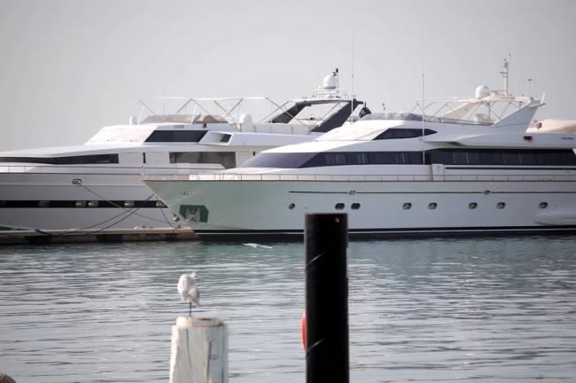 Яхты в персидском заливе