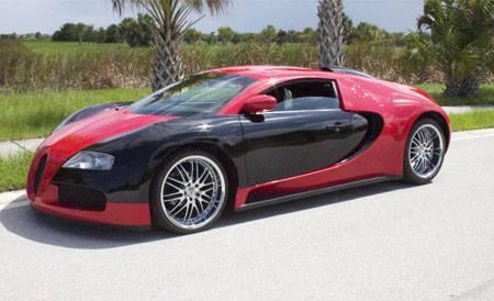 Самодельный Bugatti