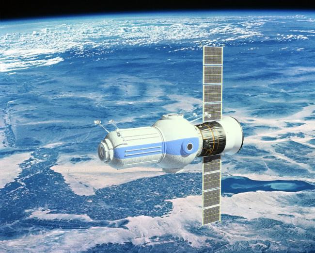 Отель в космосе