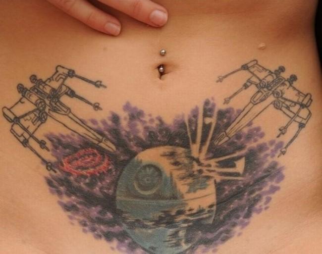 Звездные войны на татуировках