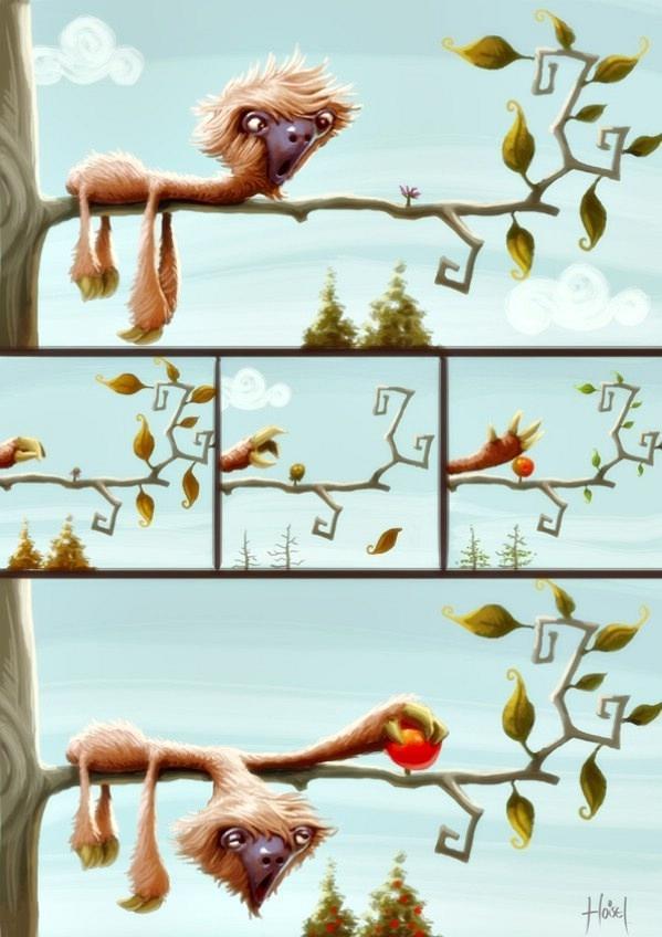 Рисунки Tiago Hoisel