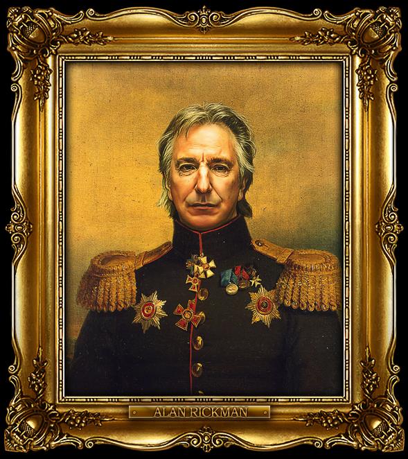 В образе русских генералов