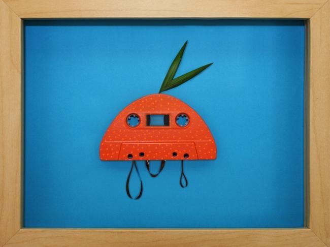 Аудио кассеты в искусстве