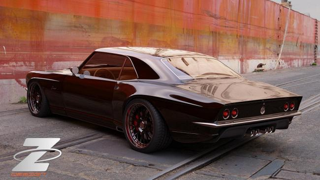Тюнинг Chevrolet Camaro 1968