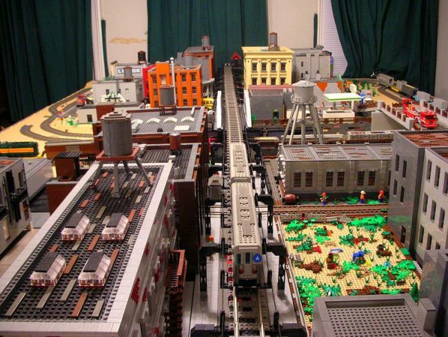Бруклин из Лего