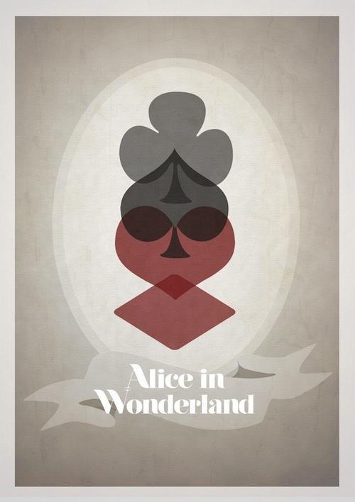 Постеры Диснея в минимализме