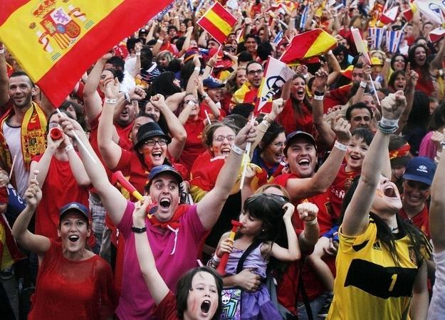 Испания чемпион Евро 2012