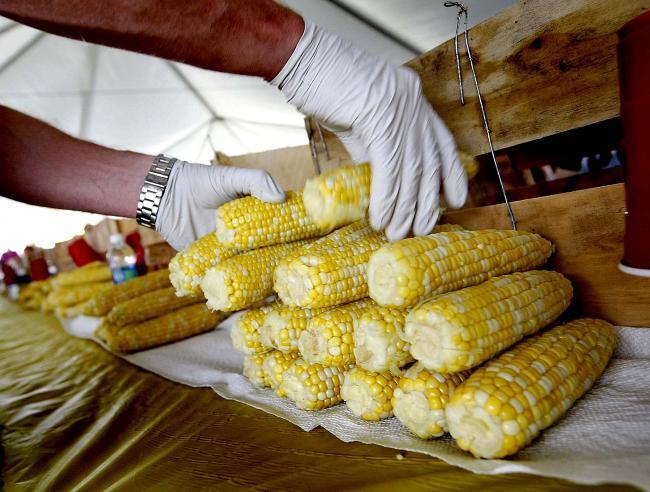 Чемпионат по поеданию кукурузы