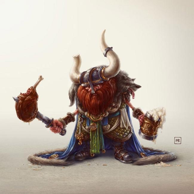 Иллюстрации Michal Dziekan