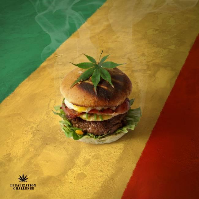 Необычные гамбургеры