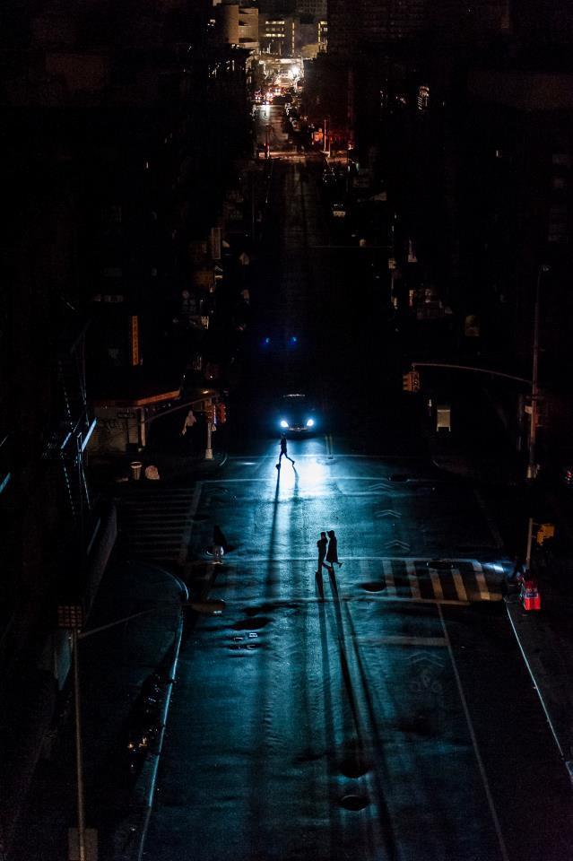 Нью-Йорк во тьме