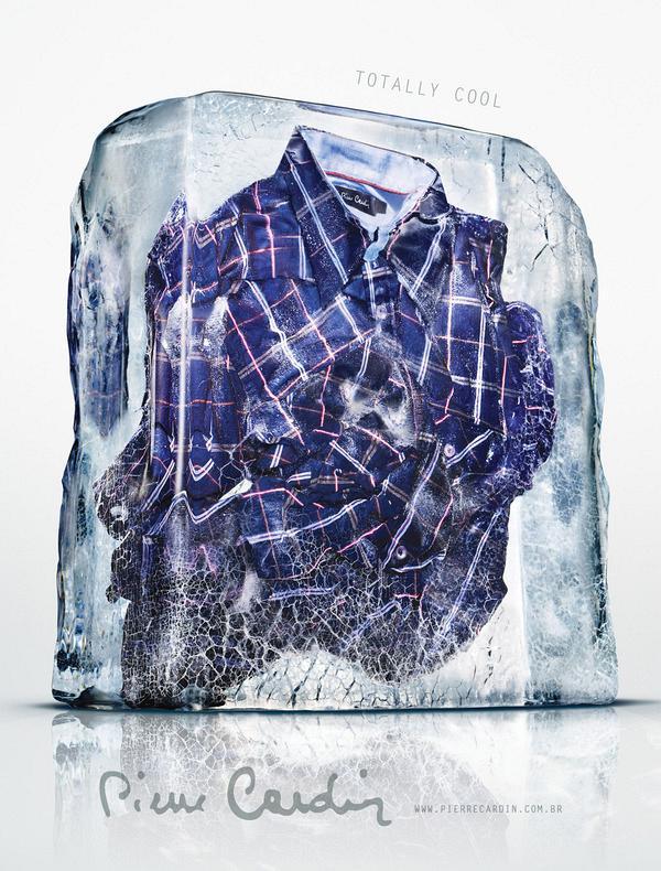 Одежда во льду