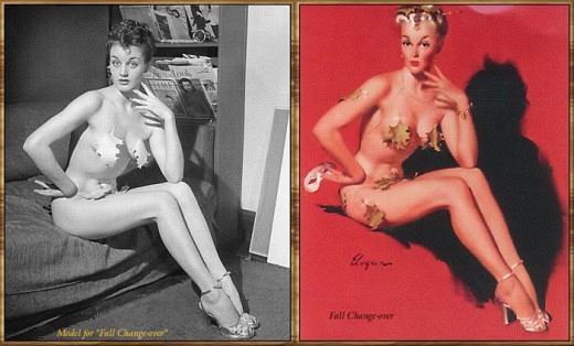 Pin-Up постеры и оригинальные фото