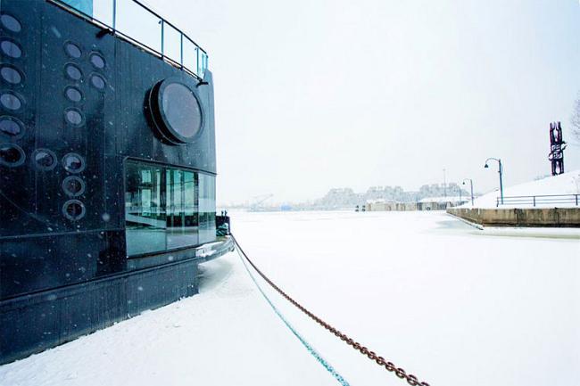 Плавающий Spa салон