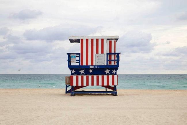 Пляжные хижины спасателей