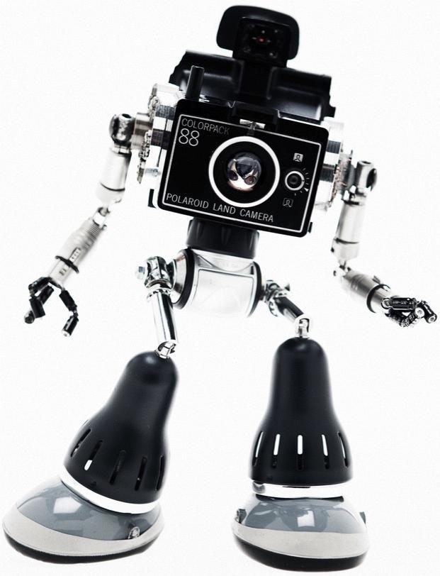 Роботы из старых деталей