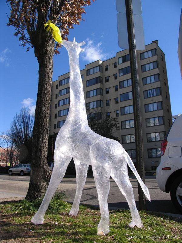 Небанальные городские скульптуры