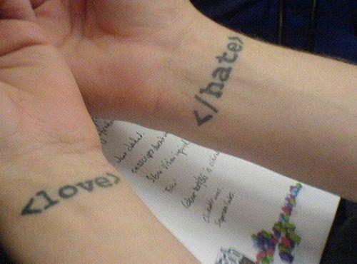 Татуировки нердов