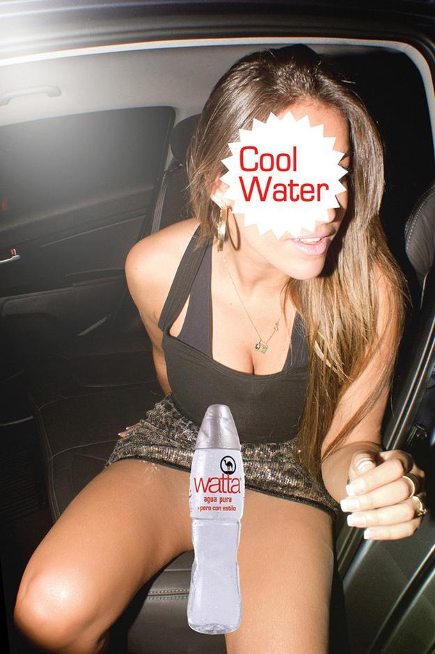 Откровенная реклама воды