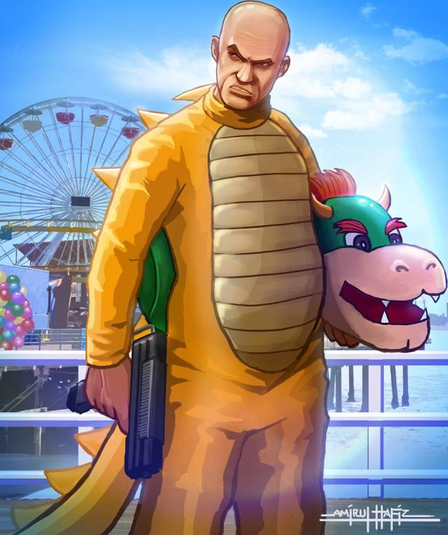 Симбиоз Mario и GTA