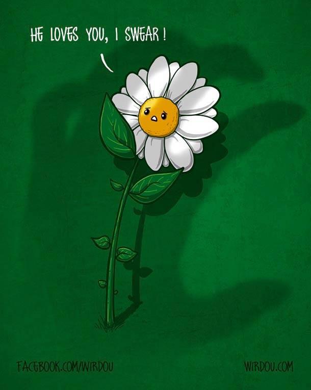 Забавные иллюстрации Wirdou