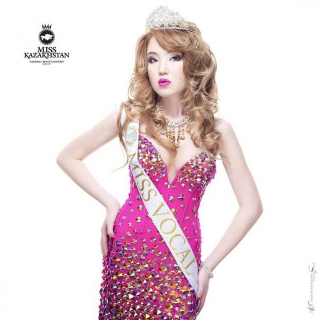 Участницы Мисс Казахстан 2013
