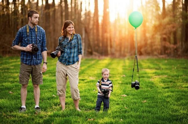 Необычные семейные фото