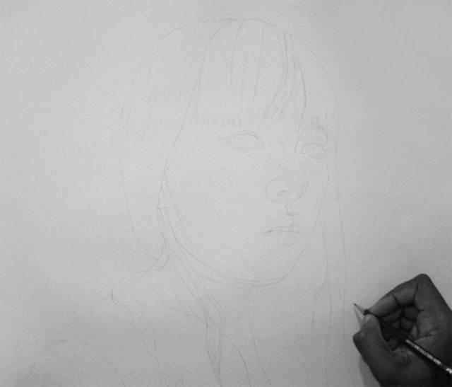 Рисунок как фото